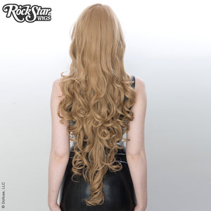 "Cosplay Wigs USA™ <br> Curly 90cm/36"" -  Milk Tea -00380"