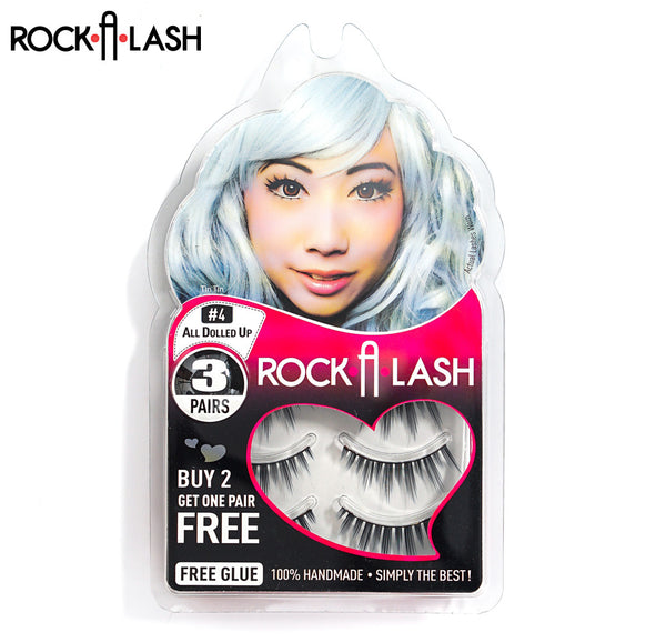Rock-A-Lash ® <br> #4 - All Dolled Up™ - 3 Pack