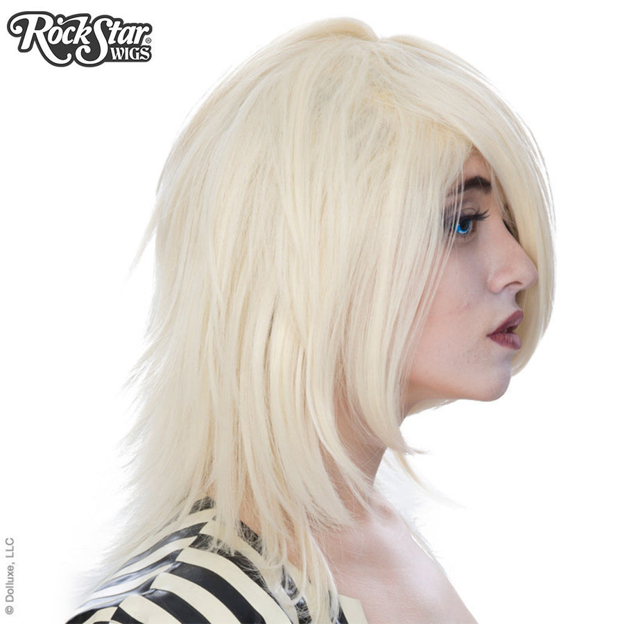 Cosplay Wigs USA™ <br> Boy Cut Shag - Light Blonde -00292