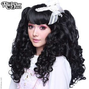 Gothic Lolita Wigs® <br> Baby Dollight™ Collection - 00004 Black Mix
