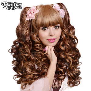 Gothic Lolita Wigs® <br> Baby Dollight™ Collection - 00005 Choco-Latte