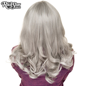 RockStar Wigs® <br> Bang Bang™ Collection - Grey Silver Fade - 00820