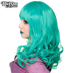 RockStar Wigs® <br> Bang Bang™ Collection - Teal - 00817