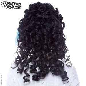 RockStar Wigs® <br> Marie Antoinette Collection - Black Lace-00193