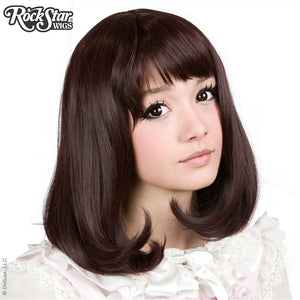 Gothic Lolita Wigs® Daily Doll™ Collection - Black Mahogany Burgundy -00433