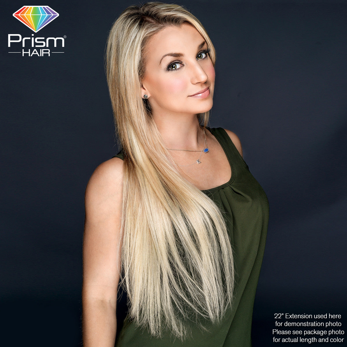 Prism Hair Extension 16 Blonde 00749 Rockstar Wigs