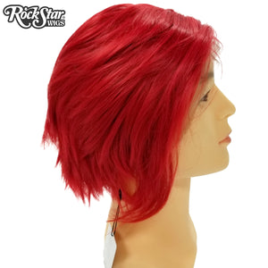 **RETIRED** Lace Front Boy Cut- Red 00807