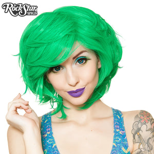 Cosplay Wigs USA™ <br> Boy Cut Short Shag - Seafoam Green -00445