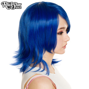 Cosplay Wigs USA™ <br> Boy Cut Shag - Royal Blue -00297