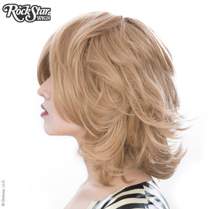 Cosplay Wigs USA™ <br> Boy Cut Short Shag - Milk Tea -00444