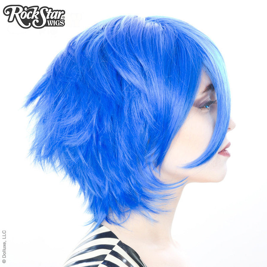 Cosplay Wigs USA™ <br> Boy Cut Short - Royal Blue -00447