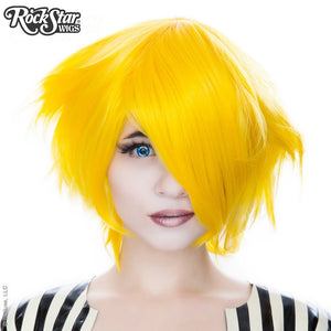 Cosplay Wigs USA™ <br> Boy Cut Short - Yellow -00449