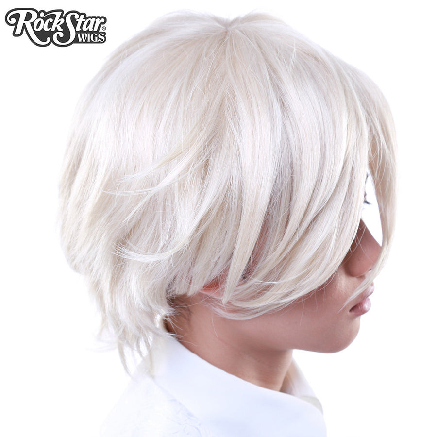 Cosplay Wigs USA™ <br> Boy Cut Short - Light Blonde -00263