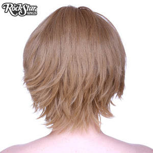 Cosplay Wigs USA™ <br> Boy Cut Short - Medium Brown -00265