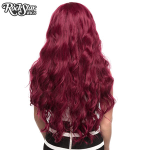 Gothic Lolita Wigs® <br> Classic Wavy Lolita™ Collection - Burgundy Mix -00037