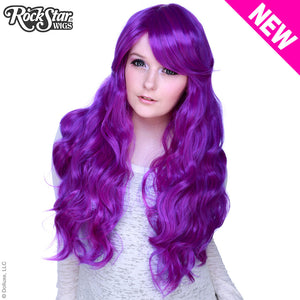 Gothic Lolita Wigs® <br> Classic Wavy Lolita™ Collection - Purple Mix -00475