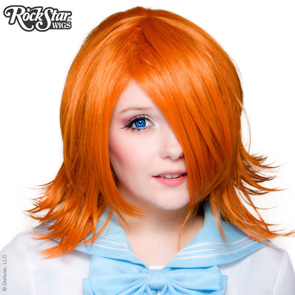 Cosplay Wigs USA™ <br> Boy Cut Shag - Copper -00287