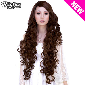 "Cosplay Wigs USA™ <br> Curly 90cm/36"" - Brown Mix -00456"