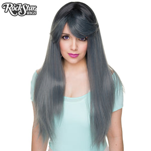 RockStar Wigs®  Bella Dark Root™ Collection - Dark Grey Pewter -00821