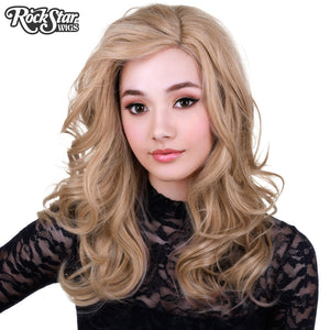 Lace Front Glamour Gal - Light Medium Blonde Mix -00575