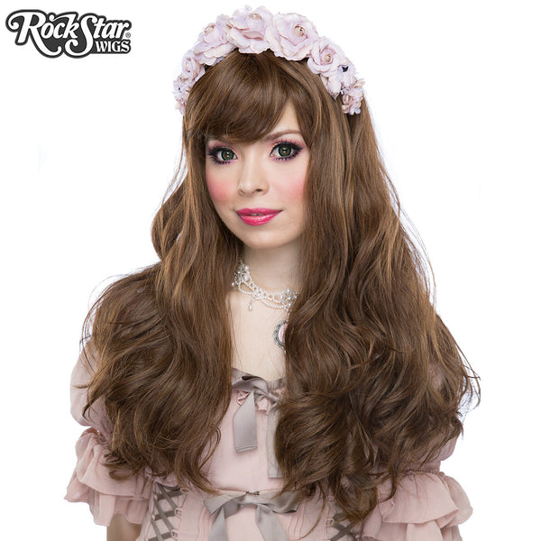 Gothic Lolita Wigs® <br> Heartbreaker Collection - Golden Chestnut Brown Mix -00063