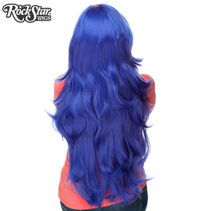 "RockStar Wigs® <br> Hologram 32"" - Royal Blue Mix - 00630"