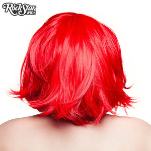 "RockStar Wigs® <br> Hologram 12"" - Jem Red - 00659"
