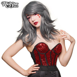 "RockStar Wigs® <br> Hologram 22"" - Dark Grey Mix - 00638"