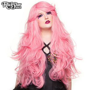 "RockStar Wigs® <br> Hologram 32"" - Bubble Gum Pink (Deep Pink Mix)-00612"