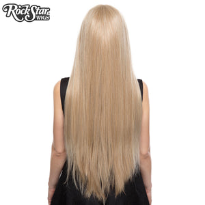 "Lace Front Yaki Straight 32"" - Blonde Mix -00815"
