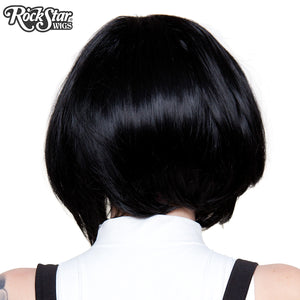 Lace Front Long Sleek Bob - Jem Black -00762