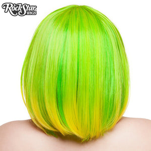 RockStar Wigs® Candy Girl Bob - Lime Green - 00691