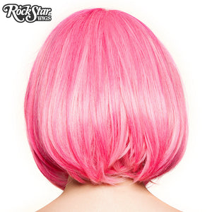 RockStar Wigs® Candy Girl Bob - Hot Pink Blend - 00690