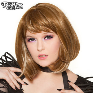RockStar Wigs® Candy Girl Bob - Dark Blonde Blend - 00689