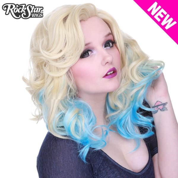 Lace Front Merilyn - Blonde To Blue -00602