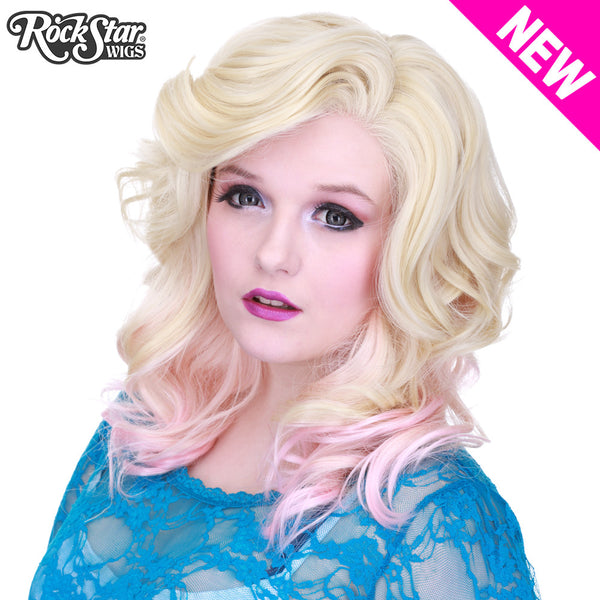 Lace Front Merilyn - Blonde To Pink -00603