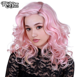 Lace Front Merilyn- Pink Blonde -00581