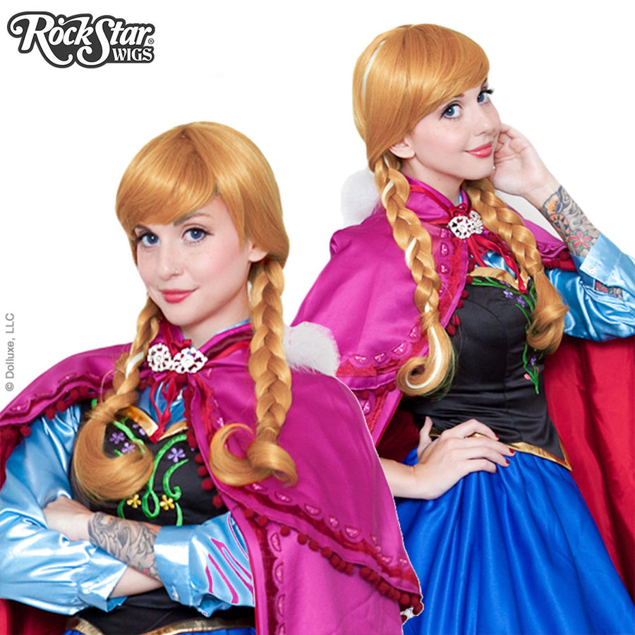 Cosplay Wigs USA® Character<br>Disney Princess Inspired - Anna -00237