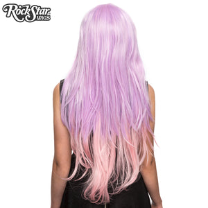 RockStar Wigs® <br> Ombre Alexa™ Collection - Lavender to Pink Fade-00200