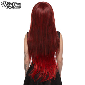 RockStar Wigs® <br> Ombre Alexa™ Collection - Wine Red Fade-00205