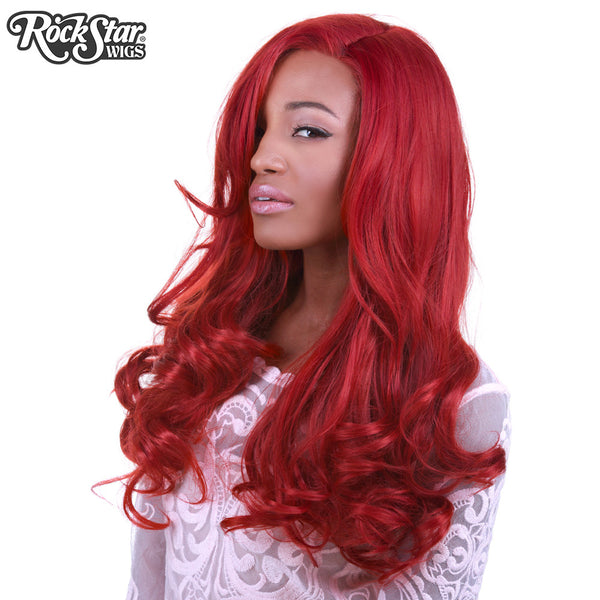 Lace Front Peek A Boo Henna Red 00535 Rockstar Wigs