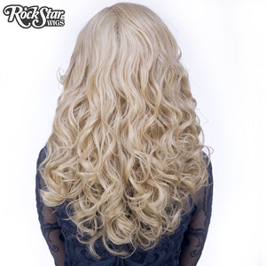 Lace Front Peek-A-Boo - Light Medium Blonde -00536