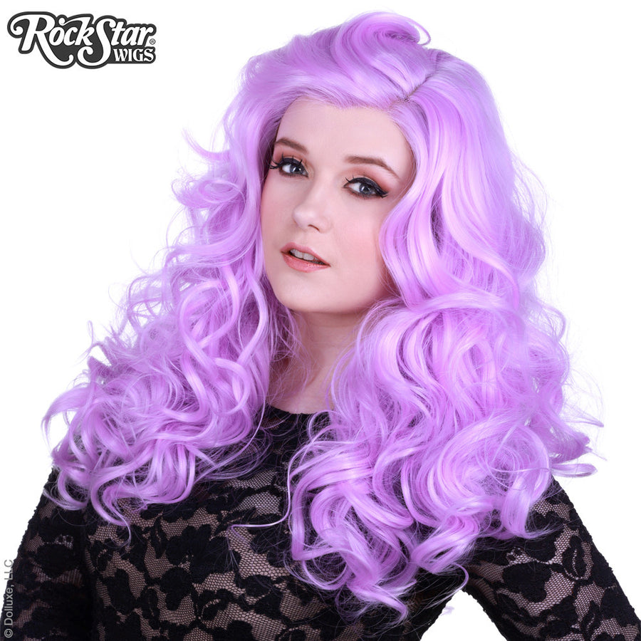 Lace Front Peek-A-Boo - Lilac -00534