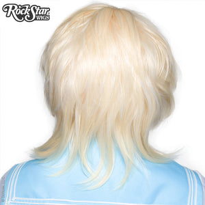 Cosplay Wigs USA™ <br> Boy Cut Long - Platinum Blonde -00281