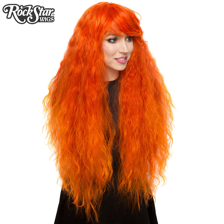 RockStar Wigs® <br> Prima Donna™ Collection - Flame à l'orange-00208