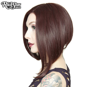 Lace Front Long Sleek Bob - Black Rose - 00761