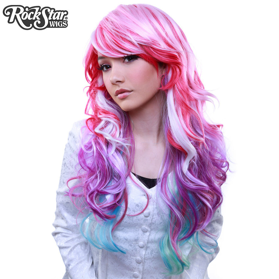RockStar Wigs® <br> Rainbow Rock™ Collection - Spring Bouquet-00221