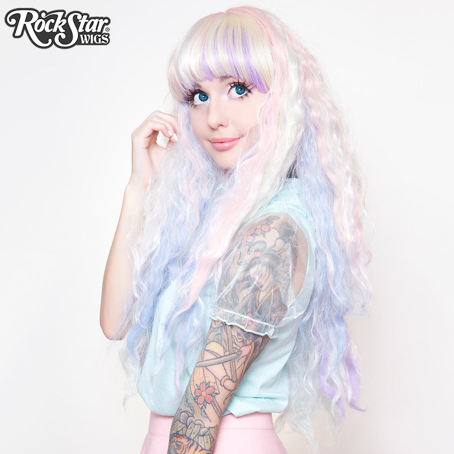 Gothic Lolita Wigs® <br> Rhapsody™ Collection - Pastel Rainbow -00470