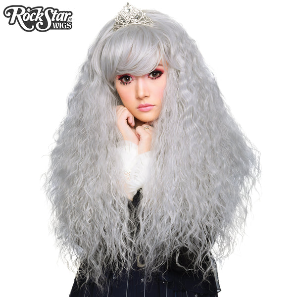 Gothic Lolita Wigs® <br> Rhapsody™ Collection - Silver -00115