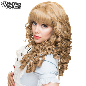 Gothic Lolita Wigs® <br> Ringlet Redux™ Collection - Milk Tea Mix -00123